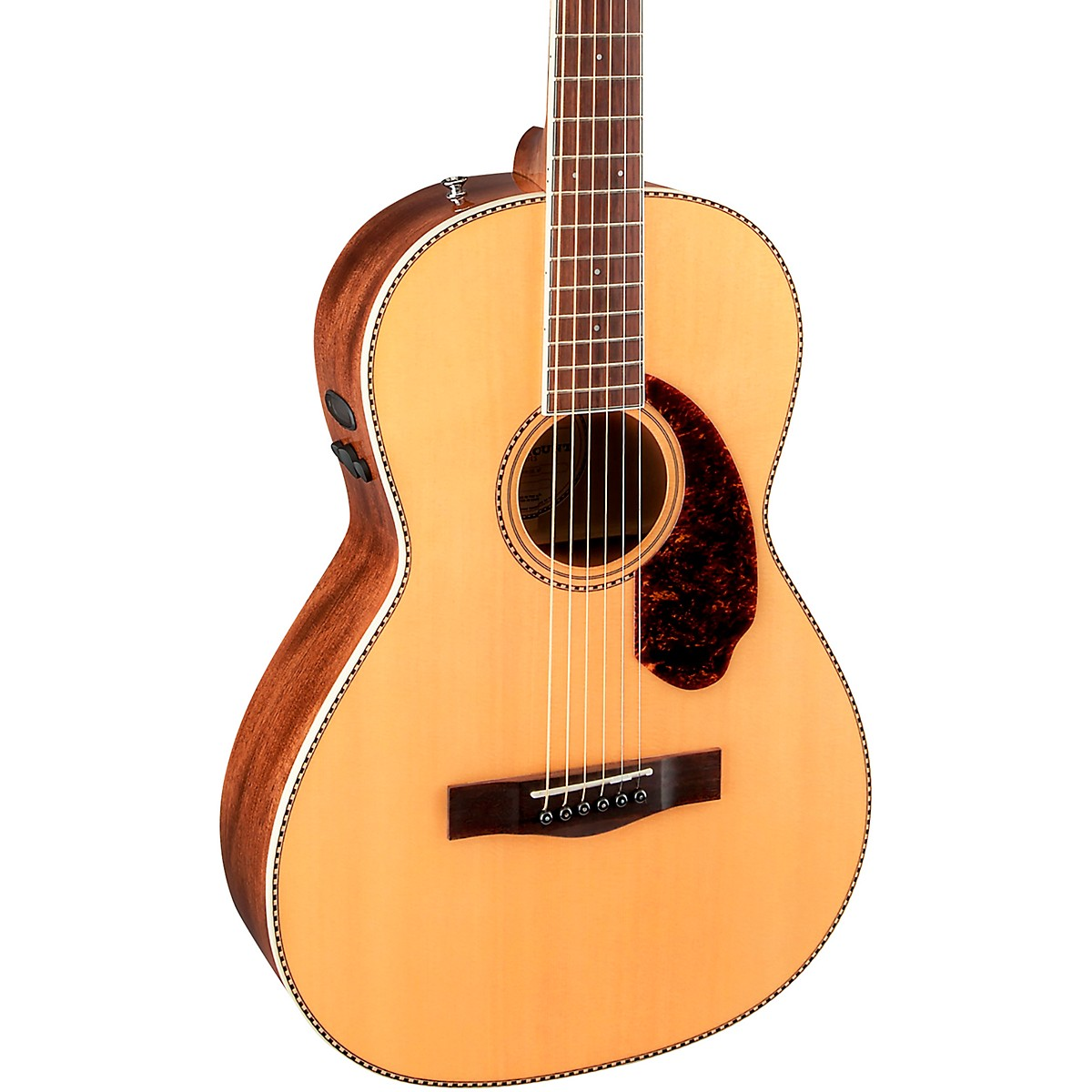Fender PM-2 Parlor Ovangkol Fingerboard Acoustic-Electric Guitar