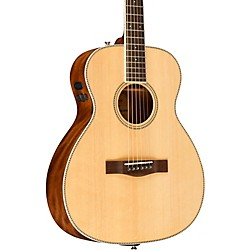 PM-TE Standard Travel Acoustic-Electric Guitar Natural