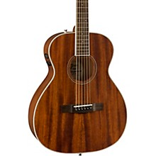 PM-TE Travel All-Mahogany Acoustic-Electric Guitar Level 2 Natural 190839423849