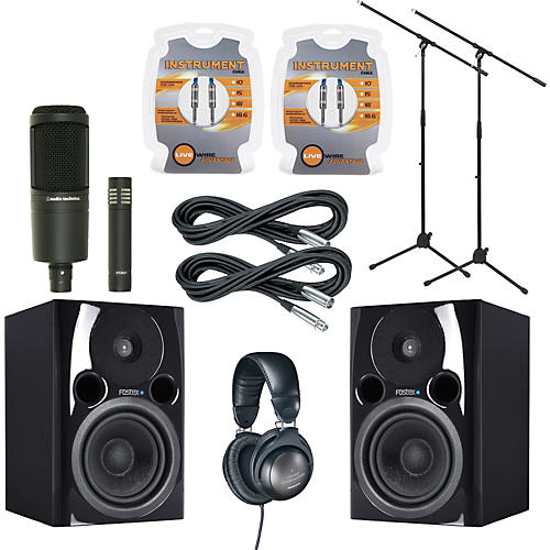 Fostex PM04N Monitor and A/T Mic Package