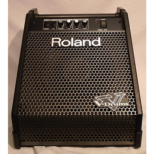 used roland pm10 30w drum amplifier guitar center. Black Bedroom Furniture Sets. Home Design Ideas