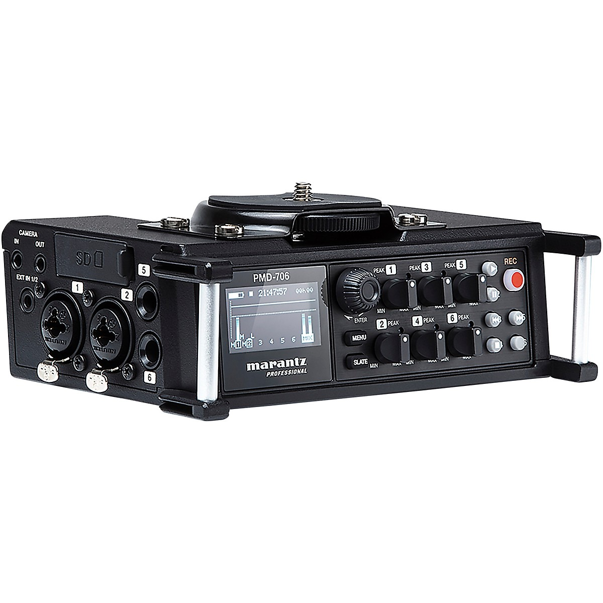 Marantz Professional PMD-706 6-Channel Professional Field Recorder