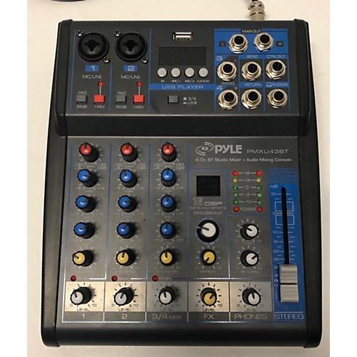 Pyle PMXU43BT Line Mixer