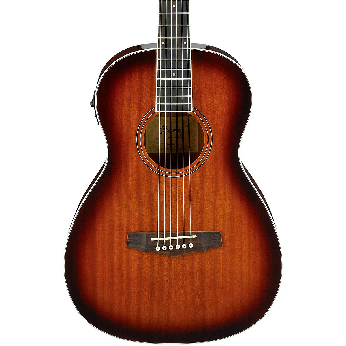 Ibanez PN12E Mahogany Parlor Acoustic-Electric Guitar