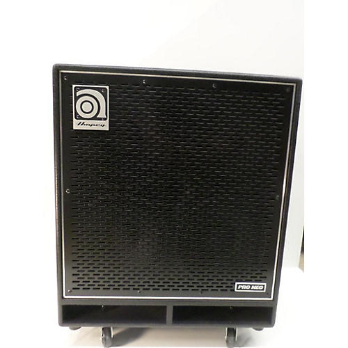 Ampeg PN410HLF 850W 4x10 WITH COVER Bass Cabinet