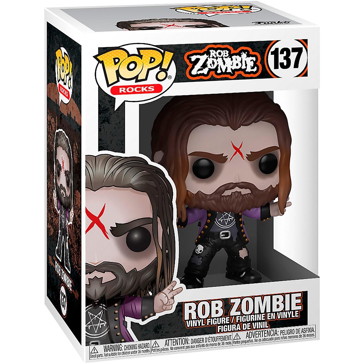 Funko POP! Rocks Rob Zombie #137 Vinyl Figurine