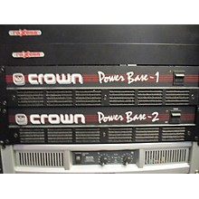 Crown POWER BASE 1 Power Amp