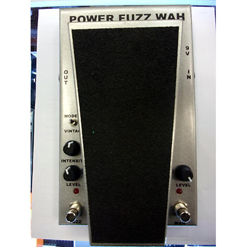 Morley POWER FUZZ WAH Effect Pedal