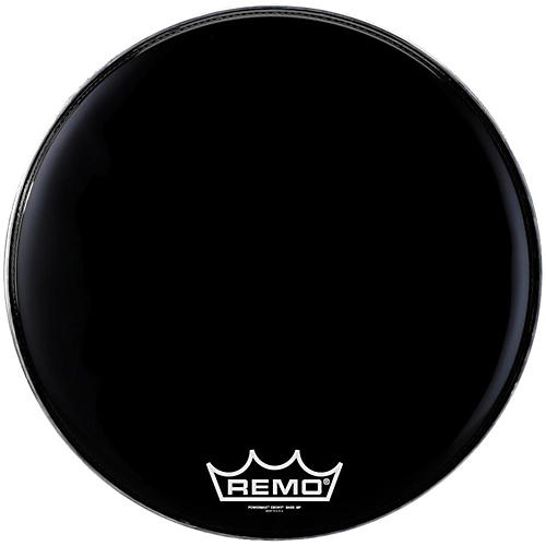 Remo Powermax Ebony Marching Bass Head