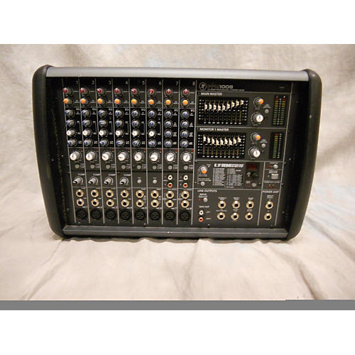 used mackie ppm1008 powered mixer guitar center. Black Bedroom Furniture Sets. Home Design Ideas