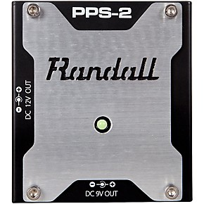 randall pps2 universal pedal board power supply guitar center. Black Bedroom Furniture Sets. Home Design Ideas