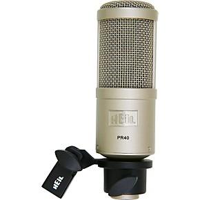 heil sound pr40 large diaphragm multipurpose dynamic microphone guitar center. Black Bedroom Furniture Sets. Home Design Ideas