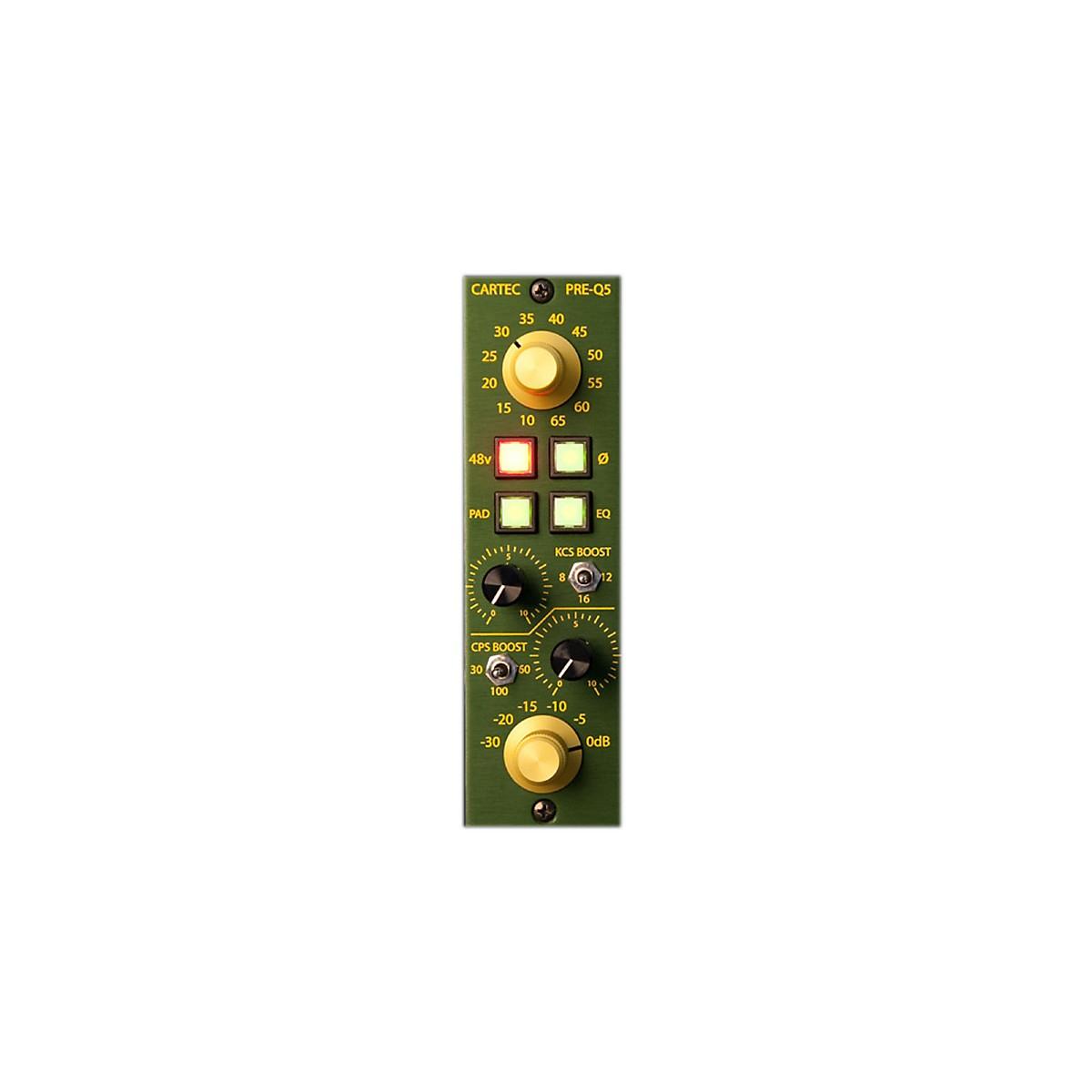 CARTEC Audio PRE-Q5 API 500 Series Mic Preamp