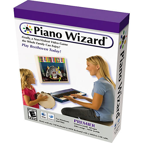 Piano Wizard PREMIER Video Game Software Package