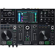 PRIME GO Rechargeable 2-Channel Standalone DJ Controller