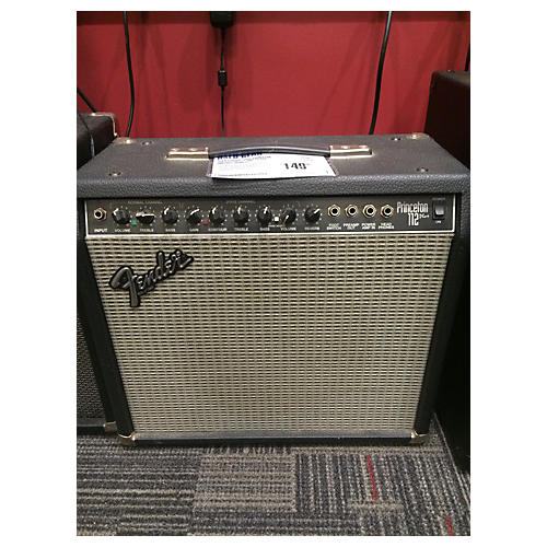 Fender PRINCETON 112 PLUS Black And Silver Guitar Combo Amp