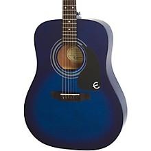 PRO-1 Acoustic Guitar Transparent Blue