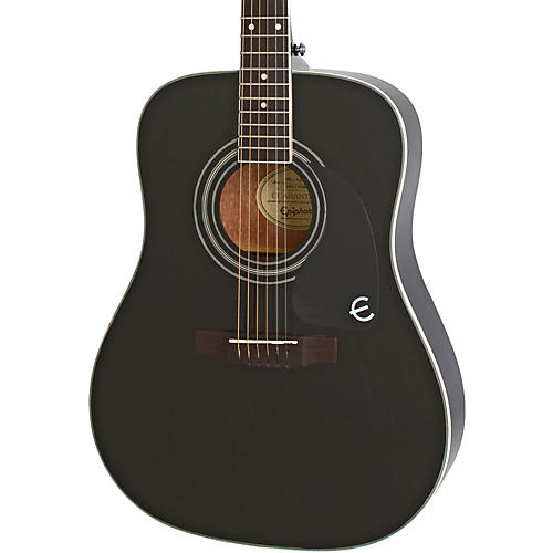 epiphone pro 1 plus acoustic guitar ebony guitar center. Black Bedroom Furniture Sets. Home Design Ideas