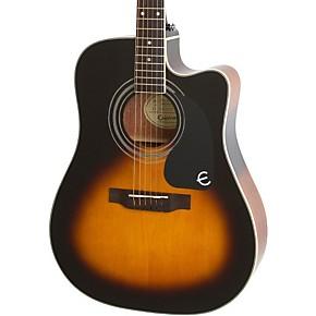 epiphone pro 1 ultra acoustic electric guitar transparent blue guitar center. Black Bedroom Furniture Sets. Home Design Ideas