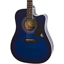 PRO-1 ULTRA Acoustic-Electric Guitar Level 2 Transparent Blue 888365498393