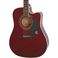 PRO-1 Ultra Acoustic-Electric Guitar Wine Red
