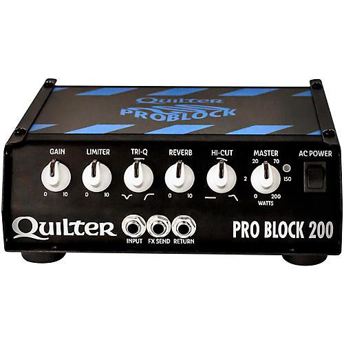 Quilter Labs PRO BLOCK 200-HEAD ProBlock 200 200W Guitar Amp Head