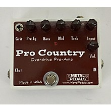 Metal Pedals PRO COUNTRY Effect Pedal