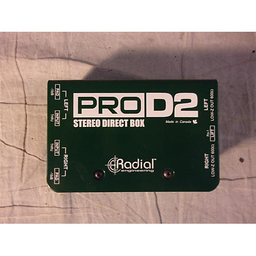 Radial Engineering PRO D2 Direct Box