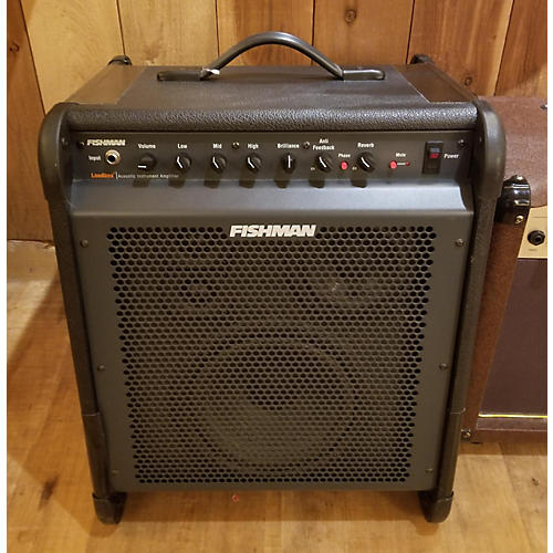used fishman pro lbx 001 acoustic guitar combo amp guitar center. Black Bedroom Furniture Sets. Home Design Ideas