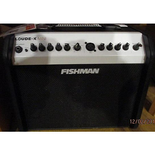 used fishman prolbx500 loudbox mini acoustic guitar combo amp guitar center. Black Bedroom Furniture Sets. Home Design Ideas