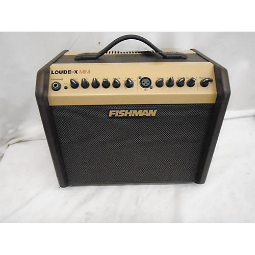 used fishman prolbx500 loudbox mini acoustic guitar combo amp guitar center. Black Bedroom Furniture Sets. Home Design Ideas