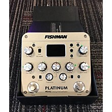 Fishman PROPLT101 Platinum EQ Pre With DI Acoustic Guitar Pickup