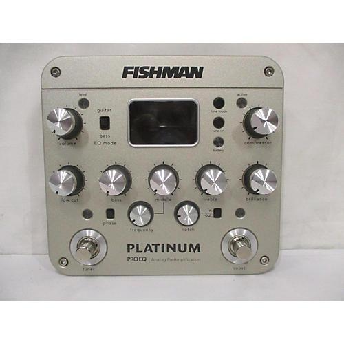 Fishman PROPLT101 Platinum EQ Pre With DI Acoustic Guitar Pickup