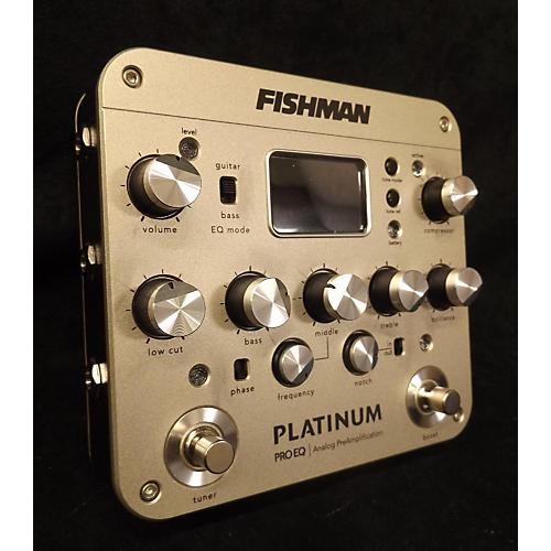 Fishman PROPLT201 Platinum EQ Pre With DI Pedal