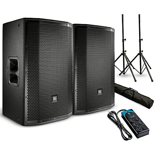 Jbl Prx812w Powered 12 Quot Speaker Pair With Stands And Power