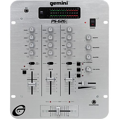 Gemini PS-626i 3 Channel Pro Preamp Mixer