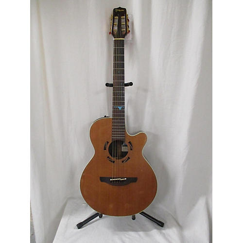 used takamine psf35c acoustic electric guitar natural guitar center. Black Bedroom Furniture Sets. Home Design Ideas