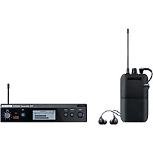 Shure PSM 300 Wireless Personal Monitoring System With SE112-GR Earphones Level 1 Band G20 Gray