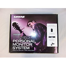 Shure PSM300 In Ear Wireless System