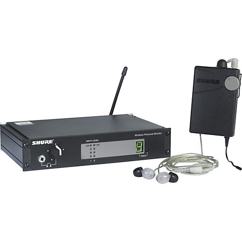 Shure PSM400 Wireless Personal Monitoring System with SE115-CL Earphones