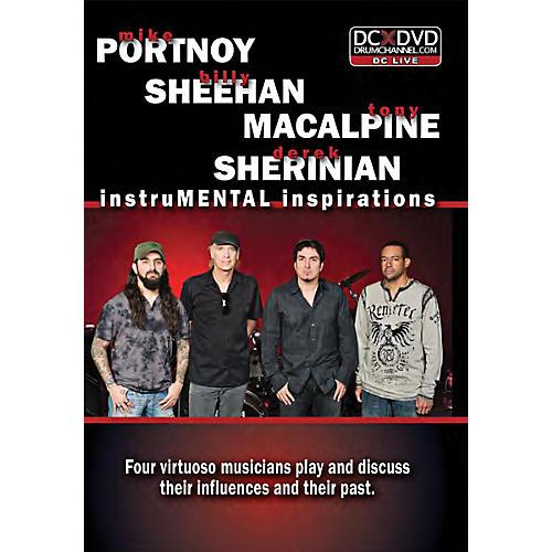 The Drum Channel PSMS Portnoy, Sheehan, MacAlpine & Sherinian:  InstruMENTAL Inspirations Drum DVD