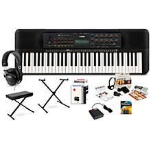 PSR-E273 61-Key Portable Keyboard Package Deluxe Package