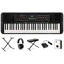 PSR-E273 61-Key Portable Keyboard Package Essentials Package