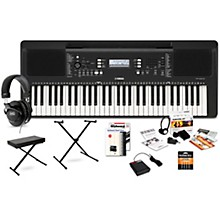 PSR-E373 61-Key Portable Keyboard Deluxe Package
