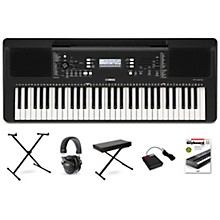PSR-E373 61-Key Portable Keyboard Essentials Package