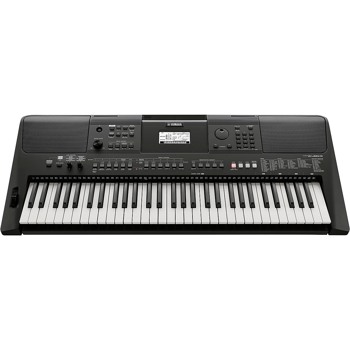 Yamaha PSR-E463 61-Key Portable Keyboard