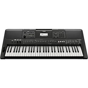 yamaha psr e463 61 key portable keyboard guitar center. Black Bedroom Furniture Sets. Home Design Ideas