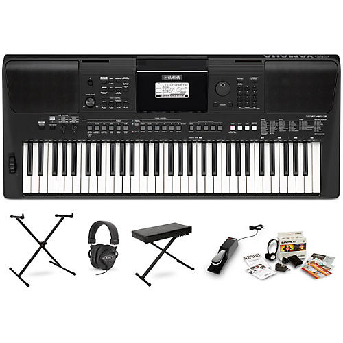 Yamaha PSR E463 Digital Piano Package With Stand And Bench