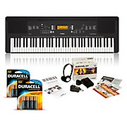 PSR-EW300 76-Key Portable Keyboard Package Essentials Package