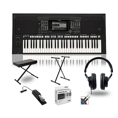 Yamaha PSR-S775 Digital Piano Package With Stand and Bench